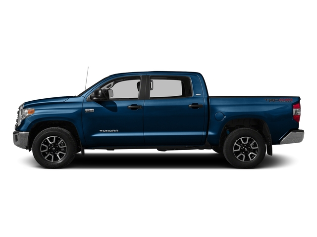 Blazing Blue Pearl 2016 Toyota Tundra 2WD Truck Pictures Tundra 2WD Truck SR5 CrewMax 2WD photos side view