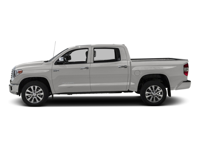 Super White 2016 Toyota Tundra 2WD Truck Pictures Tundra 2WD Truck Limited CrewMax 2WD photos side view