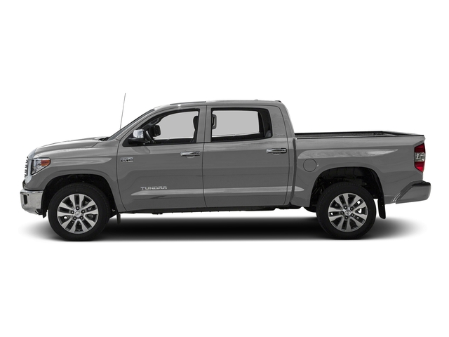 Silver Sky Metallic 2016 Toyota Tundra 2WD Truck Pictures Tundra 2WD Truck Limited CrewMax 2WD photos side view