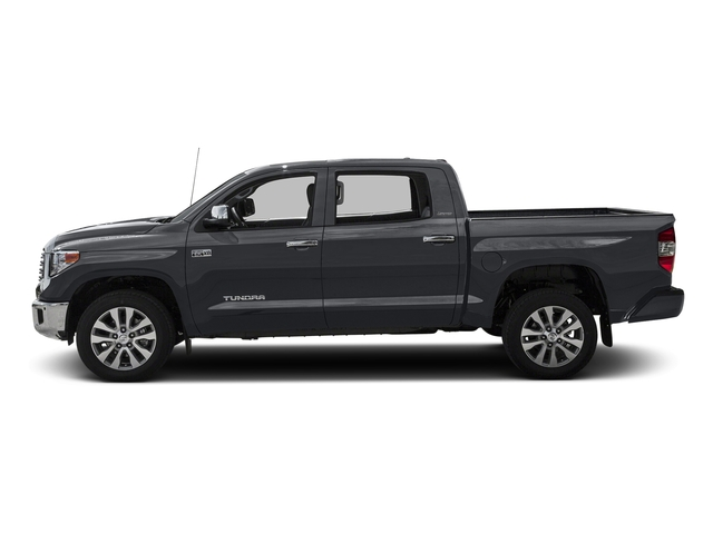 Magnetic Gray Metallic 2016 Toyota Tundra 2WD Truck Pictures Tundra 2WD Truck Limited CrewMax 2WD photos side view