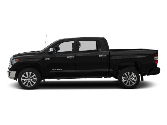 Midnight Black Metallic 2016 Toyota Tundra 2WD Truck Pictures Tundra 2WD Truck Limited CrewMax 2WD photos side view