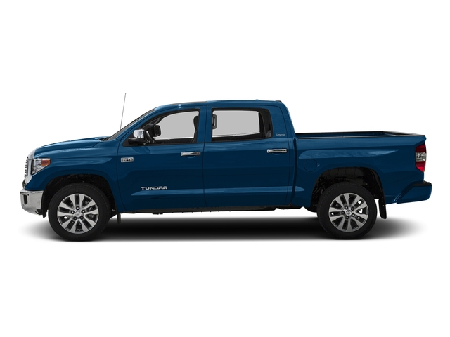 Blazing Blue Pearl 2016 Toyota Tundra 2WD Truck Pictures Tundra 2WD Truck Limited CrewMax 2WD photos side view