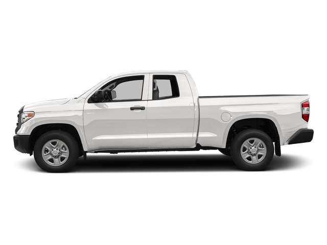 Super White 2016 Toyota Tundra 2WD Truck Pictures Tundra 2WD Truck SR Double Cab 2WD photos side view