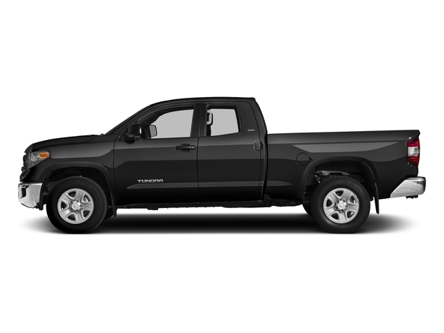 Black 2016 Toyota Tundra 4WD Truck Pictures Tundra 4WD Truck SR5 Double Cab 4WD photos side view