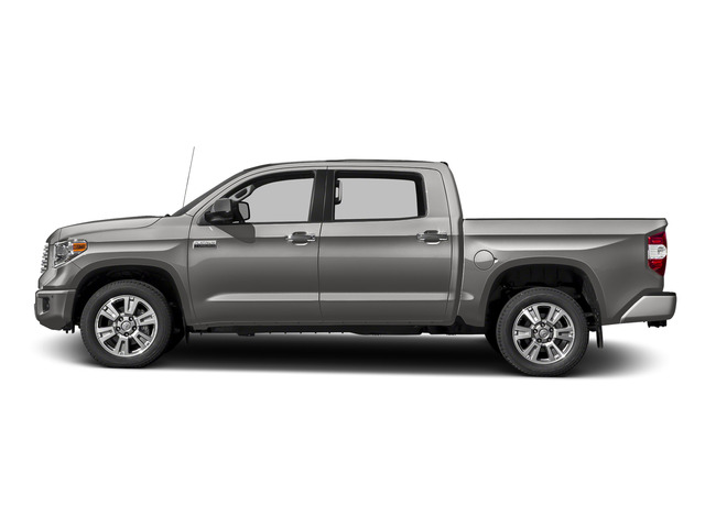 Silver Sky Metallic 2016 Toyota Tundra 2WD Truck Pictures Tundra 2WD Truck Platinum CrewMax 2WD photos side view