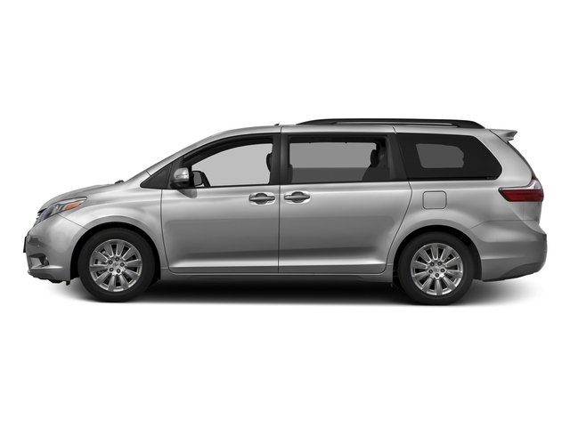 Silver Sky Metallic 2016 Toyota Sienna Pictures Sienna Wagon 5D XLE AWD V6 photos side view