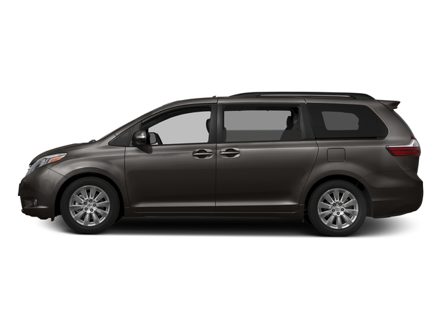 Predawn Gray Mica 2016 Toyota Sienna Pictures Sienna Wagon 5D XLE AWD V6 photos side view