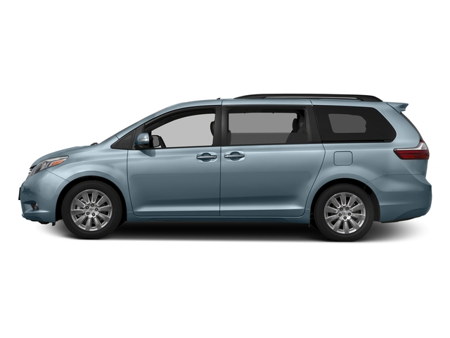 Sky Blue Pearl 2016 Toyota Sienna Pictures Sienna Wagon 5D XLE AWD V6 photos side view