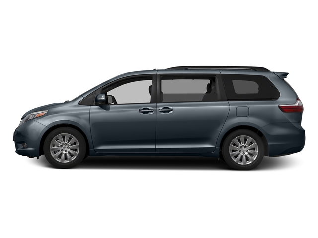 Shoreline Blue Pearl 2016 Toyota Sienna Pictures Sienna Wagon 5D XLE AWD V6 photos side view