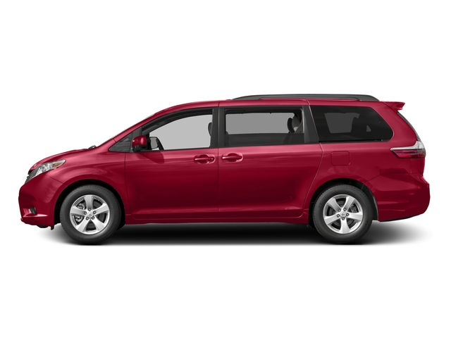 Salsa Red Pearl 2016 Toyota Sienna Pictures Sienna Wagon 5D LE V6 photos side view