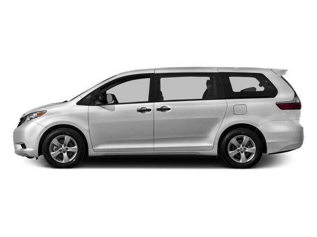 Super White 2016 Toyota Sienna Pictures Sienna Wagon 5D L V6 photos side view