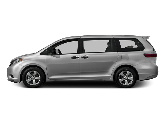 Silver Sky Metallic 2016 Toyota Sienna Pictures Sienna Wagon 5D L V6 photos side view