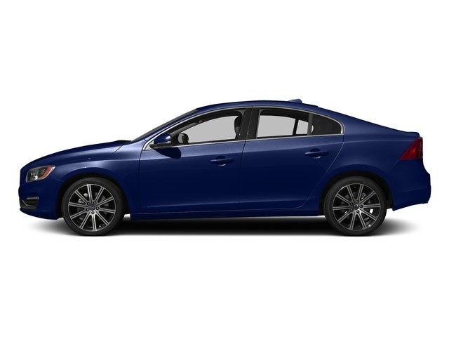 Magic Blue Metallic 2016 Volvo S60 Pictures S60 Sedan 4D T6 Platinum Drive-E Turbo photos side view