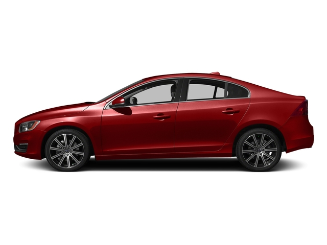 Flamenco Red Metallic 2016 Volvo S60 Pictures S60 Sedan 4D T6 Platinum Drive-E Turbo photos side view