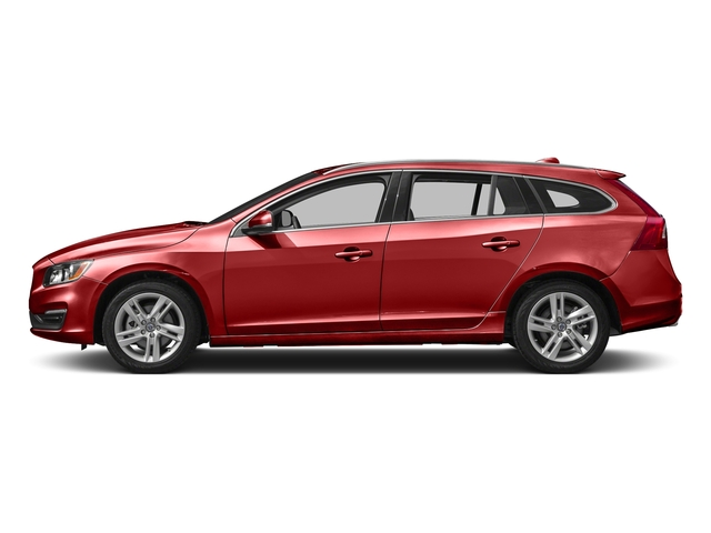 Flamenco Red Metallic 2016 Volvo V60 Pictures V60 Wagon 4D T5 Premier AWD Turbo photos side view