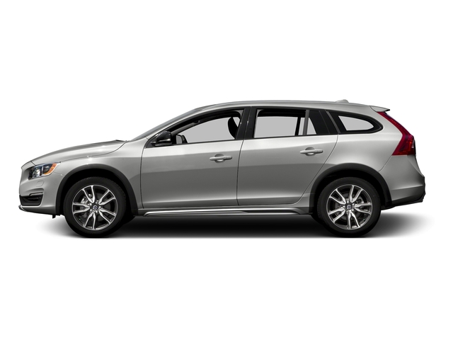 Bright Silver Metallic 2016 Volvo V60 Cross Country Pictures V60 Cross Country Wagon 4D T5 AWD I5 Turbo photos side view