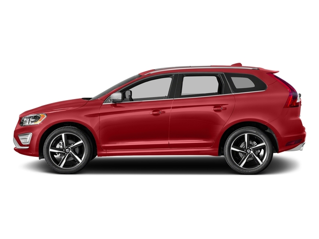 Passion Red 2016 Volvo XC60 Pictures XC60 Util 4D T6 R-Design AWD I6 Turbo photos side view