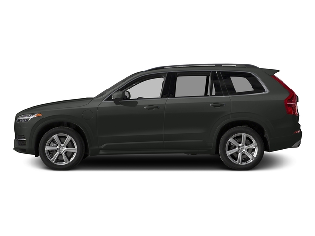 Ember Black Metallic 2016 Volvo XC90 Hybrid Pictures XC90 Hybrid Utility 4D T8 Inscription AWD Hybrid photos side view