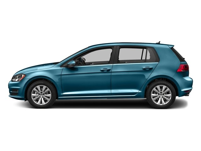 Silk Blue Metallic 2016 Volkswagen Golf Pictures Golf Hatchback 4D S I4 Turbo photos side view