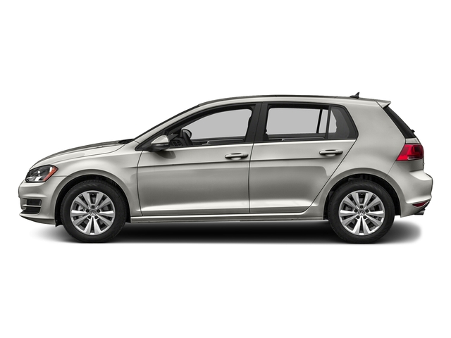 Tungsten Silver Metallic 2016 Volkswagen Golf Pictures Golf Hatchback 4D S I4 Turbo photos side view
