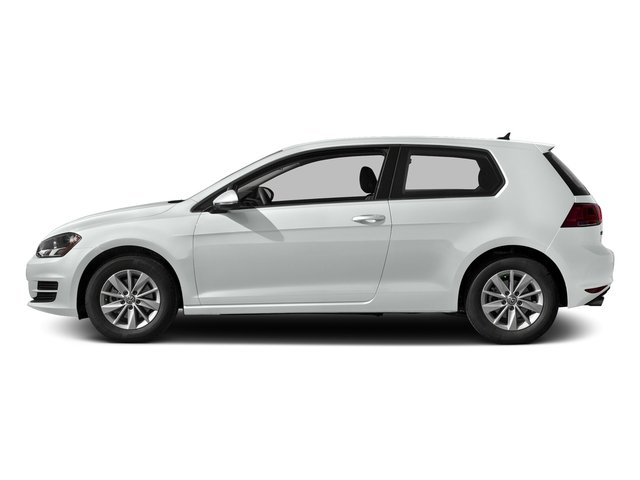 Pure White 2016 Volkswagen Golf Pictures Golf Hatchback 2D I4 Turbo photos side view