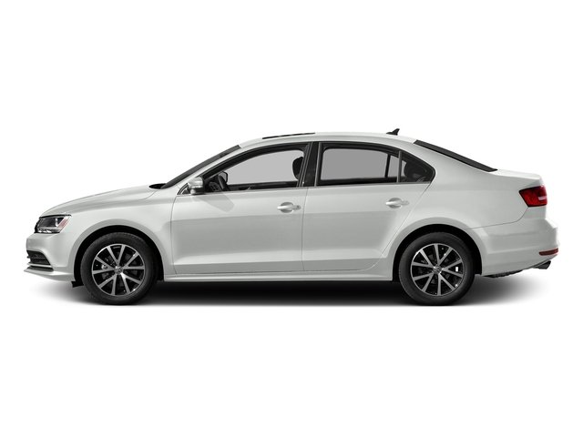 Pure White 2016 Volkswagen Jetta Sedan Pictures Jetta Sedan 4D Sport I4 Turbo photos side view