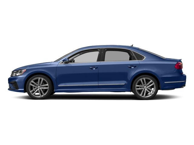 Reef Blue Metallic 2016 Volkswagen Passat Pictures Passat Sedan 4D R-Line I4 Turbo photos side view