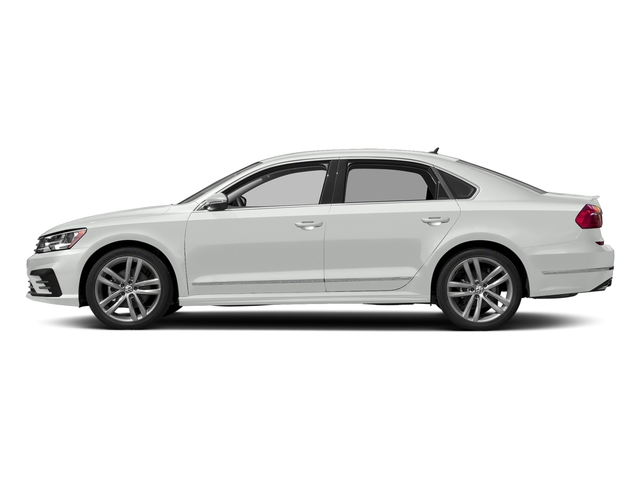Pure White 2016 Volkswagen Passat Pictures Passat Sedan 4D R-Line I4 Turbo photos side view
