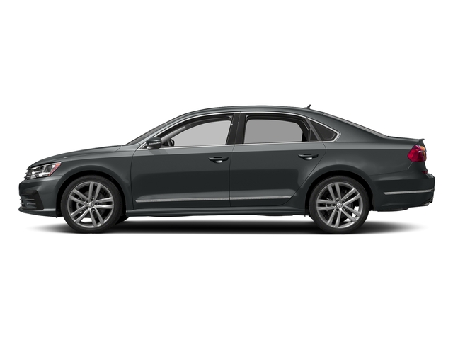 Urano Gray Metallic 2016 Volkswagen Passat Pictures Passat Sedan 4D R-Line I4 Turbo photos side view
