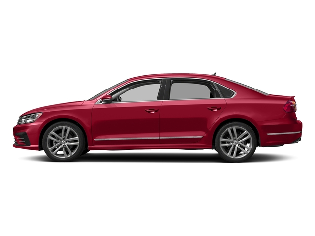 Fortana Red 2016 Volkswagen Passat Pictures Passat Sedan 4D R-Line I4 Turbo photos side view