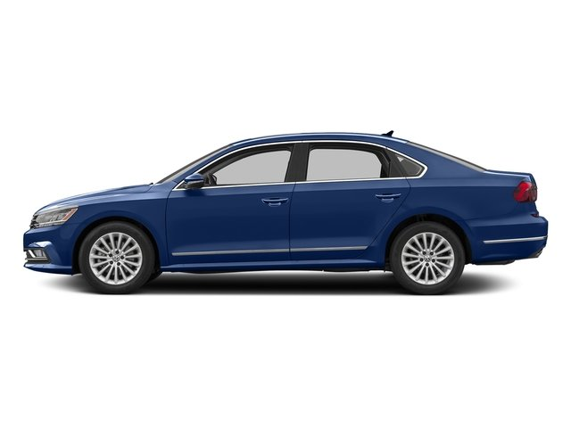 Reef Blue Metallic 2016 Volkswagen Passat Pictures Passat Sedan 4D SE Technology I4 Turbo photos side view