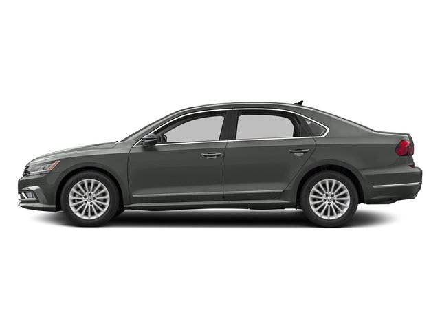 Platinum Gray Metallic 2016 Volkswagen Passat Pictures Passat Sedan 4D SEL Premium I4 Turbo photos side view