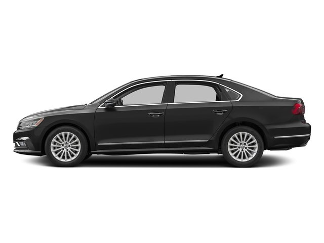 Black Uni 2016 Volkswagen Passat Pictures Passat Sedan 4D SE Technology I4 Turbo photos side view