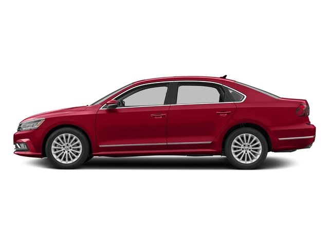 Fortana Red 2016 Volkswagen Passat Pictures Passat Sedan 4D SE Technology I4 Turbo photos side view