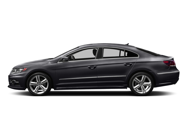 Deep Black Pearl 2016 Volkswagen CC Pictures CC Sedan 4D R-Line Executive I4 Turbo photos side view