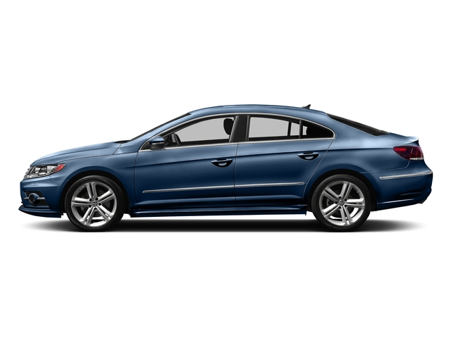 Harbor Blue Metallic 2016 Volkswagen CC Pictures CC Sedan 4D R-Line Executive I4 Turbo photos side view