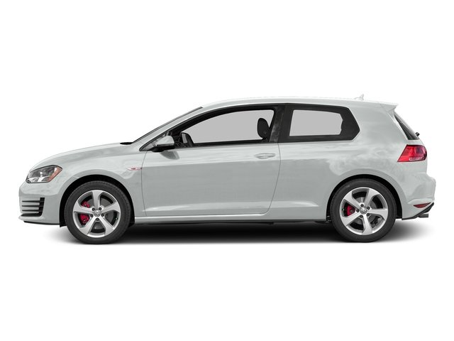 Pure White 2016 Volkswagen Golf GTI Pictures Golf GTI Hatchback 2D SE I4 Turbo photos side view