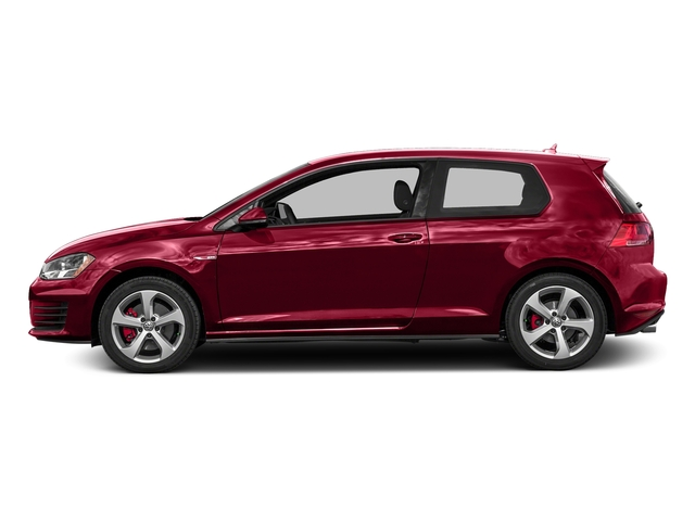 Tornado Red 2016 Volkswagen Golf GTI Pictures Golf GTI Hatchback 2D SE I4 Turbo photos side view