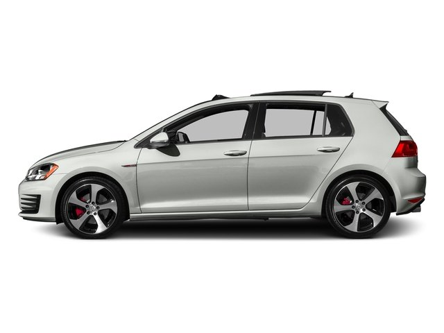 Reflex Silver Metallic 2016 Volkswagen Golf GTI Pictures Golf GTI Hatchback 4D S I4 Turbo photos side view