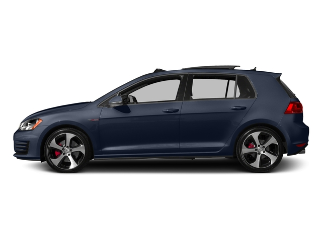 Night Blue Metallic 2016 Volkswagen Golf GTI Pictures Golf GTI Hatchback 4D S I4 Turbo photos side view