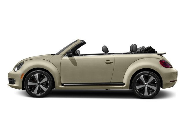 Moonrock Silver Metallic/Black Roof 2016 Volkswagen Beetle Convertible Pictures Beetle Convertible Convertible 2D SEL I4 Turbo photos side view