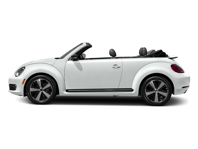 Pure White/Black Roof 2016 Volkswagen Beetle Convertible Pictures Beetle Convertible Convertible 2D SEL I4 Turbo photos side view