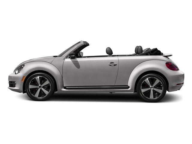 Reflex Silver Metallic/Black Roof 2016 Volkswagen Beetle Convertible Pictures Beetle Convertible Convertible 2D SEL I4 Turbo photos side view