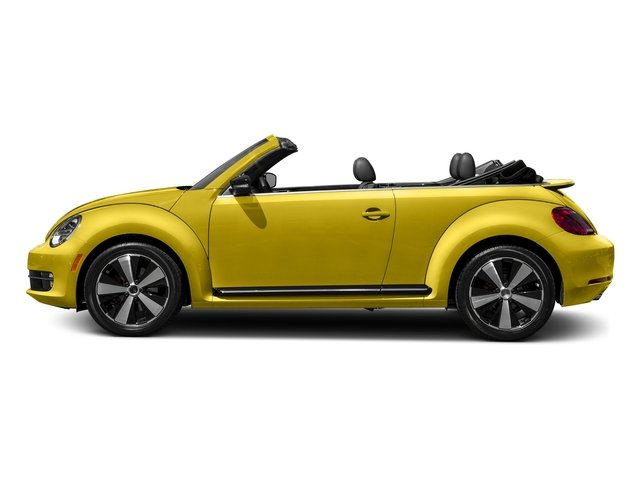 Yellow Rush/Black Roof 2016 Volkswagen Beetle Convertible Pictures Beetle Convertible Convertible 2D SEL I4 Turbo photos side view