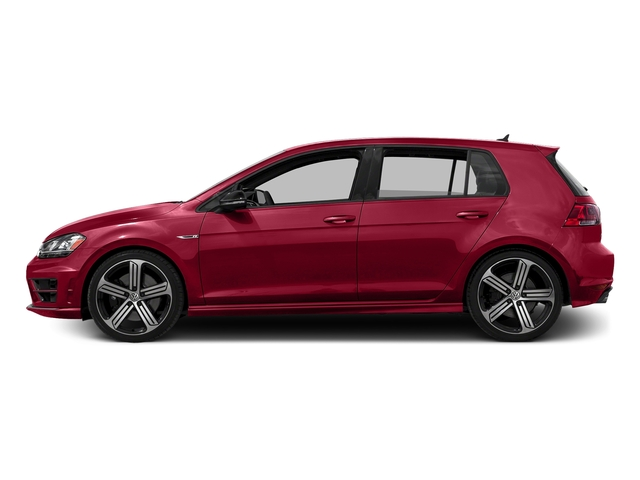 Tornado Red 2016 Volkswagen Golf R Pictures Golf R Hatchback 4D R AWD I4 Turbo photos side view