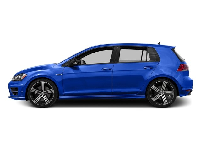 Lapiz Blue Metallic 2016 Volkswagen Golf R Pictures Golf R Hatchback 4D R AWD I4 Turbo photos side view