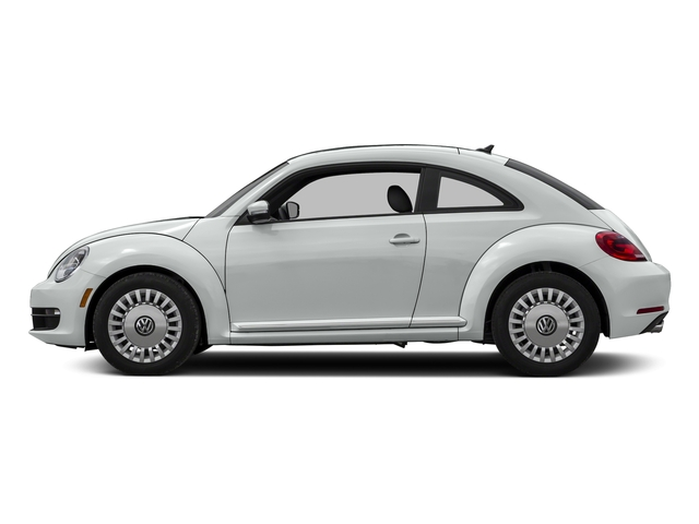 Pure White 2016 Volkswagen Beetle Coupe Pictures Beetle Coupe 2D R-Line SEL I4 Turbo photos side view