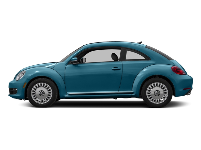 Silk Blue Metallic 2016 Volkswagen Beetle Coupe Pictures Beetle Coupe 2D R-Line SEL I4 Turbo photos side view