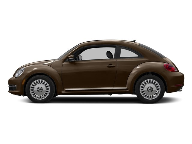 Dark Bronze Metallic 2016 Volkswagen Beetle Coupe Pictures Beetle Coupe 2D SE I4 Turbo photos side view