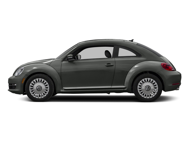 Platinum Gray Metallic 2016 Volkswagen Beetle Coupe Pictures Beetle Coupe 2D R-Line SEL I4 Turbo photos side view